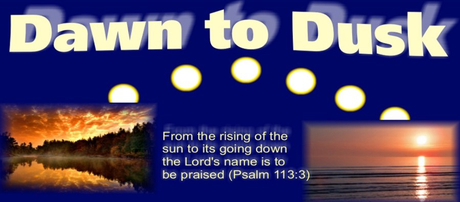 From the rising of the sun to its going down, the glory of God will be praised